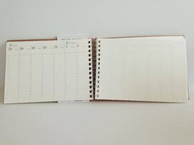 2015年ダイアリー,スケジュール帳,emv,雑貨,エミュ,岡山